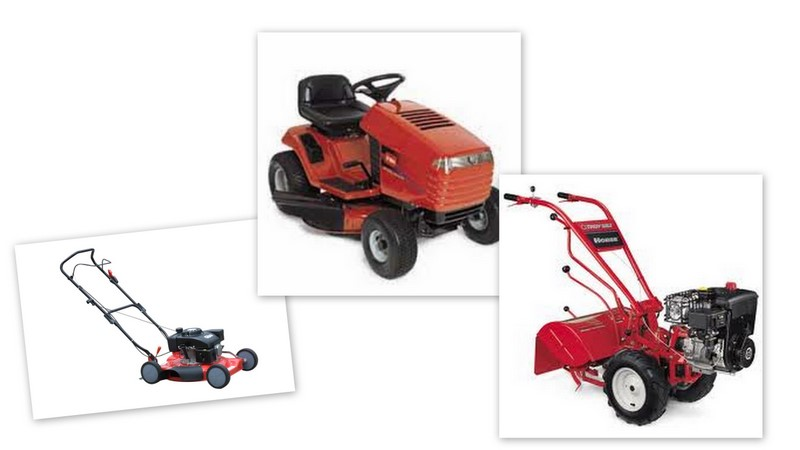Riding mower, Mower, Rototiller Tune Ups