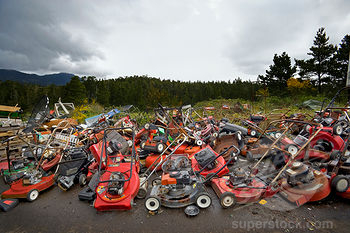 Recycle Smart: What to do with an old mower, Rider, Trimmer, Snowblower & other Outdoor Power Equipment.