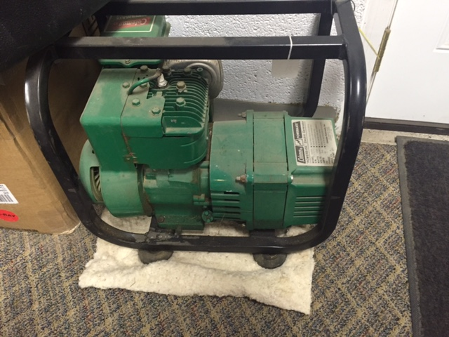 Used 2500 Watt Coleman Powermate Powerbase Generator For