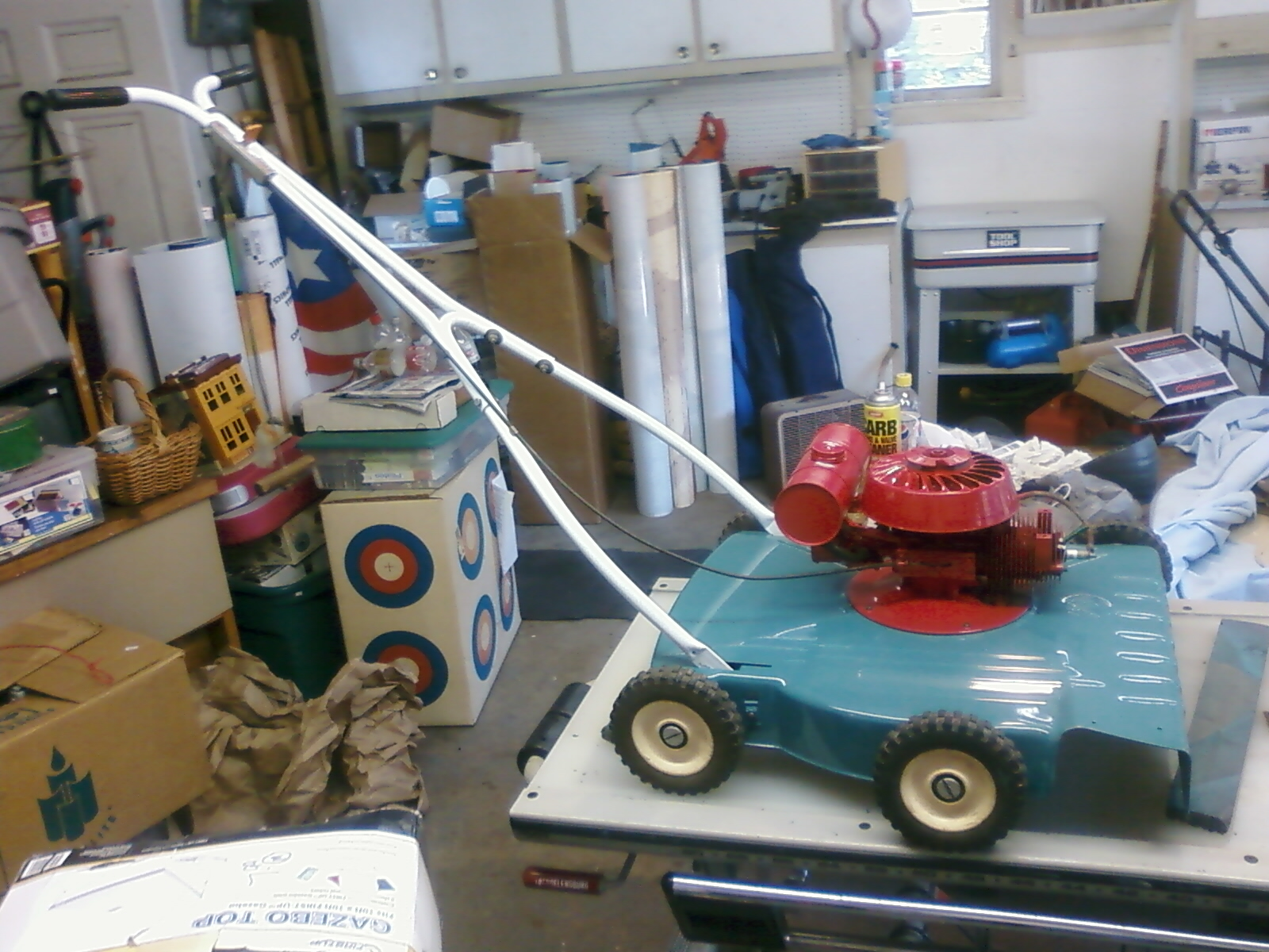 Old Power Products push mower After