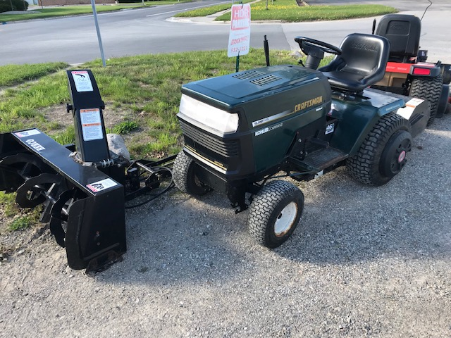 Used Craftsman Garden Tractor with 46