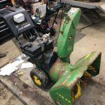 Used John Deere TRS26 Snowblower For Sale