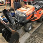 Used Husqvarna Tractor Rider With New 20hp engine. 42″ Mower Deck And 42″ Two Stage Snowblower For Sale