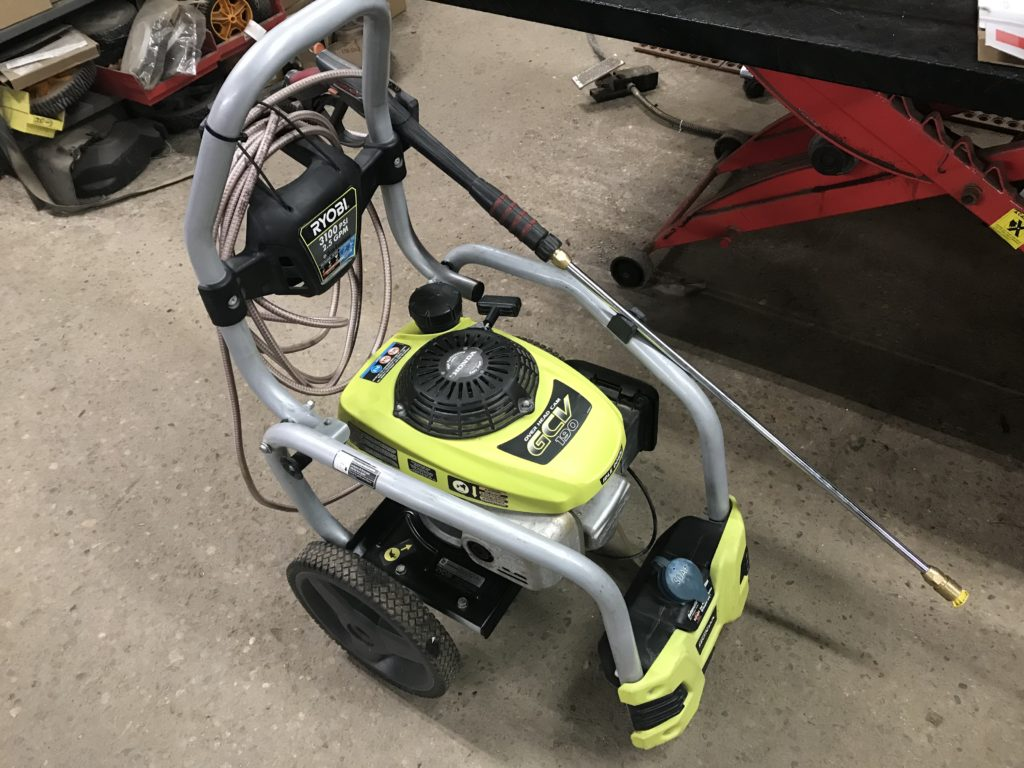 Used Ryobi 3100 Psi Power Washer For Sale 200 00 Hdr Small Engine Repair